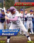 SGN SportsCard Baseball - Small Screen