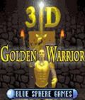 3D Golden Warrior
