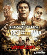 THQ Wireless WWE Legends of Wrestlemania ML n95