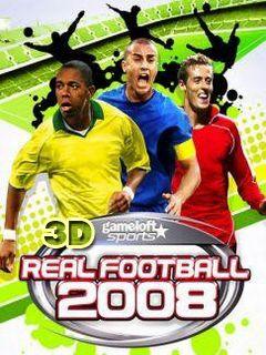 Real Football 2008 3D لعبة جافا - تحميل علىPHONEKY