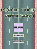 Police Thief Road Rash - 2 Cars