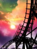 Rollercoaster Rush 99 3D (240x320)