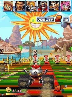 Sonic & Sega All Stars Racing Java Game - Download for free on PHONEKY