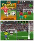 3D freekick football