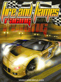 Fire And Flames Racing (240x320)