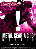 Metal Gear Acid Mobile (Touchscreen)