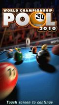 WORLD CHAMPIONSHIP POOL 2010(3D)