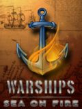 WARSHIPS-SEA ON FIRE