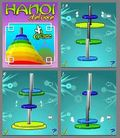 Hanoi Towers Deluxe Puzzle Games