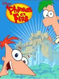 Pantalla táctil Phineas y Ferb