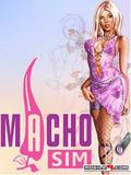 MachoSim Philips 240x400 Touch