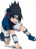 Sasuke Cau Be Ninja