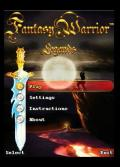 Fantacy Warrior Legend 240x320