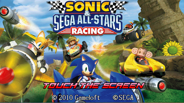 SONIC AND SEGA ALL STARS RACING Java Game - Download for