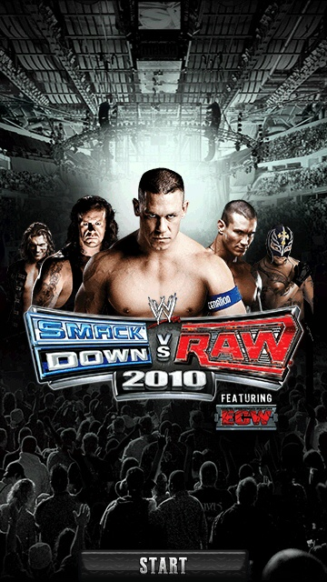 WWE SMACKDOWN Vs RAW 2010 3D Java Game - Download for free