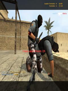3D Counter Strike Fullscreen (240X400) Java Game - Download