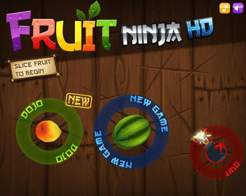 fruit ninja per samsung s5230