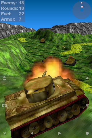 Tank Ace 1944 Full version Java Game - Download for free on