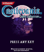 Castlevania Dawn Of Sorrow (240x320) Nokia N73