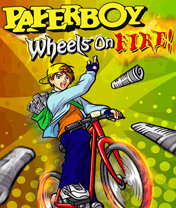 Paperboy Wheels On Fire (240x320) SE