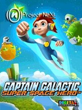 Captain Galactic - Super Space Hero (240x320) SE