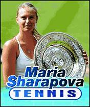 Maria Sharapova Tennis (240x320)