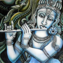 भगवान कृष्ण बांसुरी