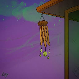 Wind Chime Echo SMS