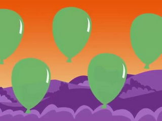 -Pretty Balloons- (balloon song for learning colors)