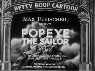 [FULL] Popeye The Sailor Man - Ep 01 Popeye A Movie Star