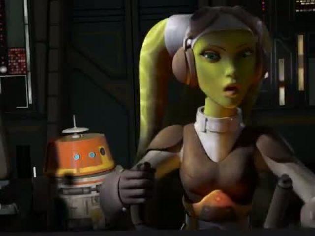 Sneak Peek- Machine in the Ghost - Star Wars Rebels