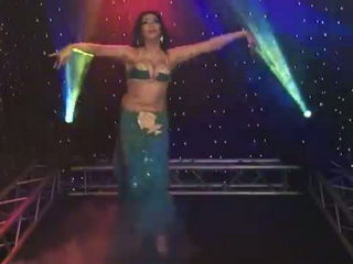 Belly Dance Arabic Dancer