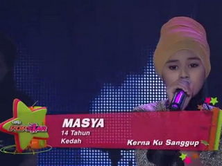 Ceria Popstar 2- Masya - Karena Ku Sanggup (Agnes Monica)