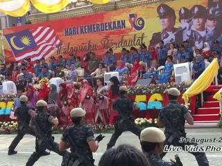 VAT 69 commando Malaysia Merdeka Day performances