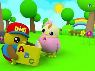 Lagu Kanak Kanak - ABC - Didi & Friends
