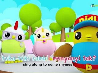 Lagu Kanak-Kanak - Rasa Sayang - Didi & Friends