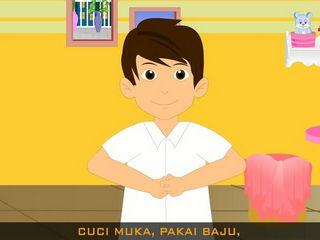 Bangun Pagi - Malaysian Kids Song