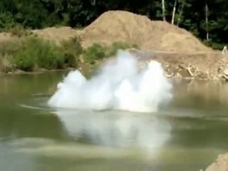 Anderson University sodium toss explosion