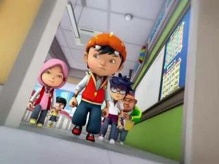 BoBoiBoy Musim 3 Episod 9- ScamBot vs SampahBot