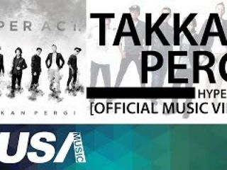 Hyper Act - Takkan Pergi [Official Music Video] OST Cinta Si Wedding Planner