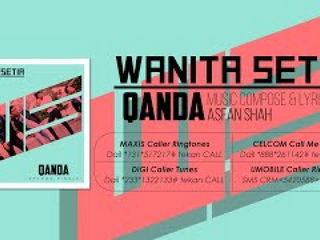 Qanda - Wanita Setia [Official Lyrics Video] OST of the Movie 'Kampung Drift'