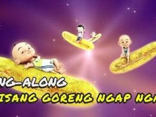 Upin & Ipin - Lagu Pisang Goreng Ngap Ngap