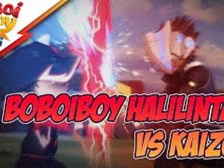BoBoiBoy Halilintar vs Kaizo