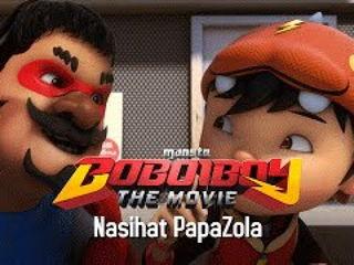 Klip BoBoiBoy The Movie: Nasihat Cikgu Papazola