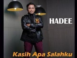 Hadee - Kasih Apa Salahku