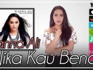 Wanna Ali - Jika Kau Benar ( Lyrics Video)