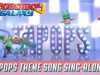 Boboiboy Galaxy TAPOPS Theme Song (Sing-along)