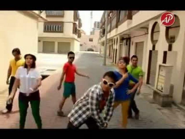 Gangnam Style Versi Kelantan - Tino Jate Style