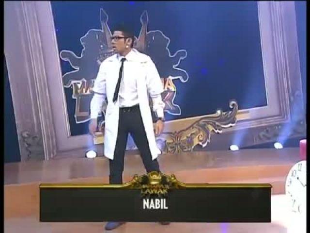 Maharaja Lawak - Episod 4 Nabil