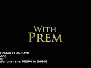 Prem Ratan Dhan Payo Video Song